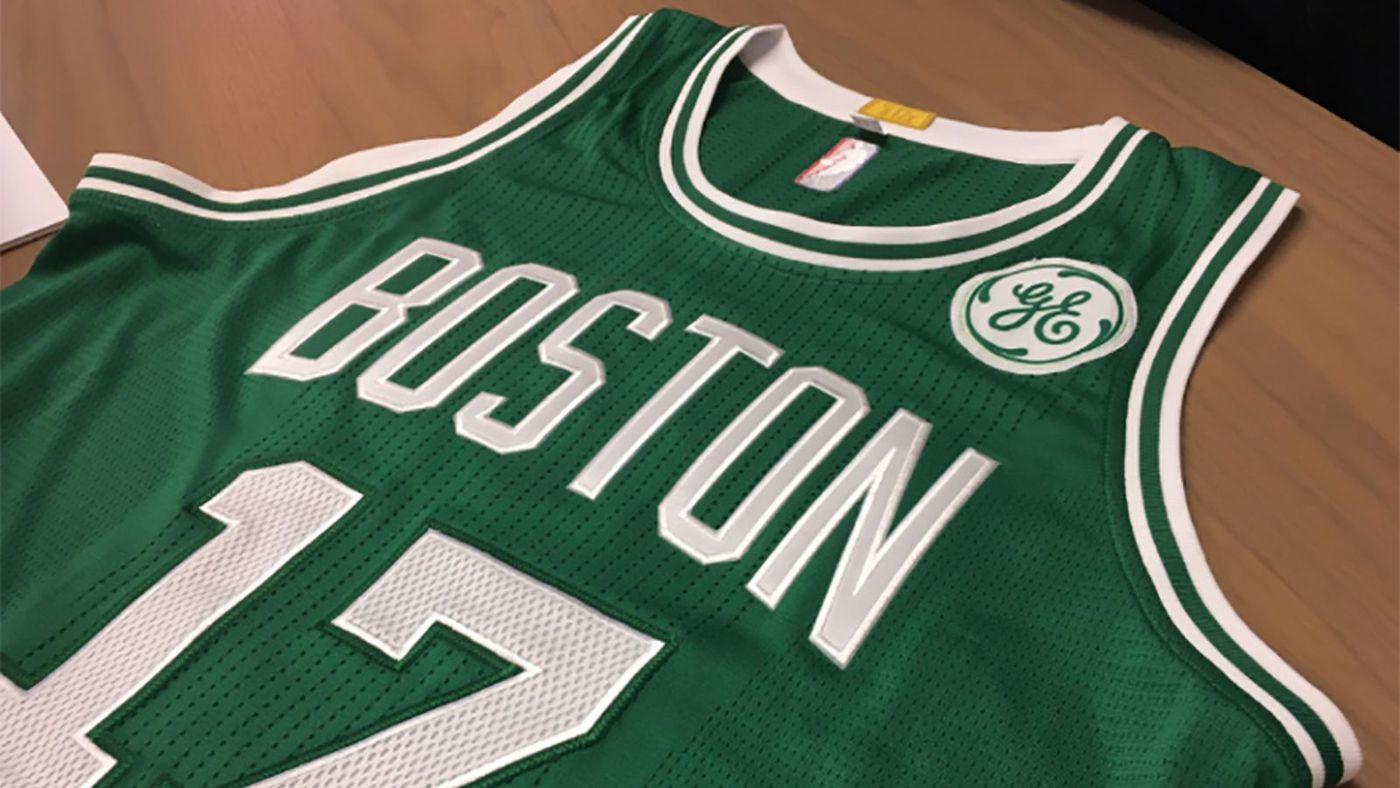 Jersey Sponsorships: Boston Celtics General Electric