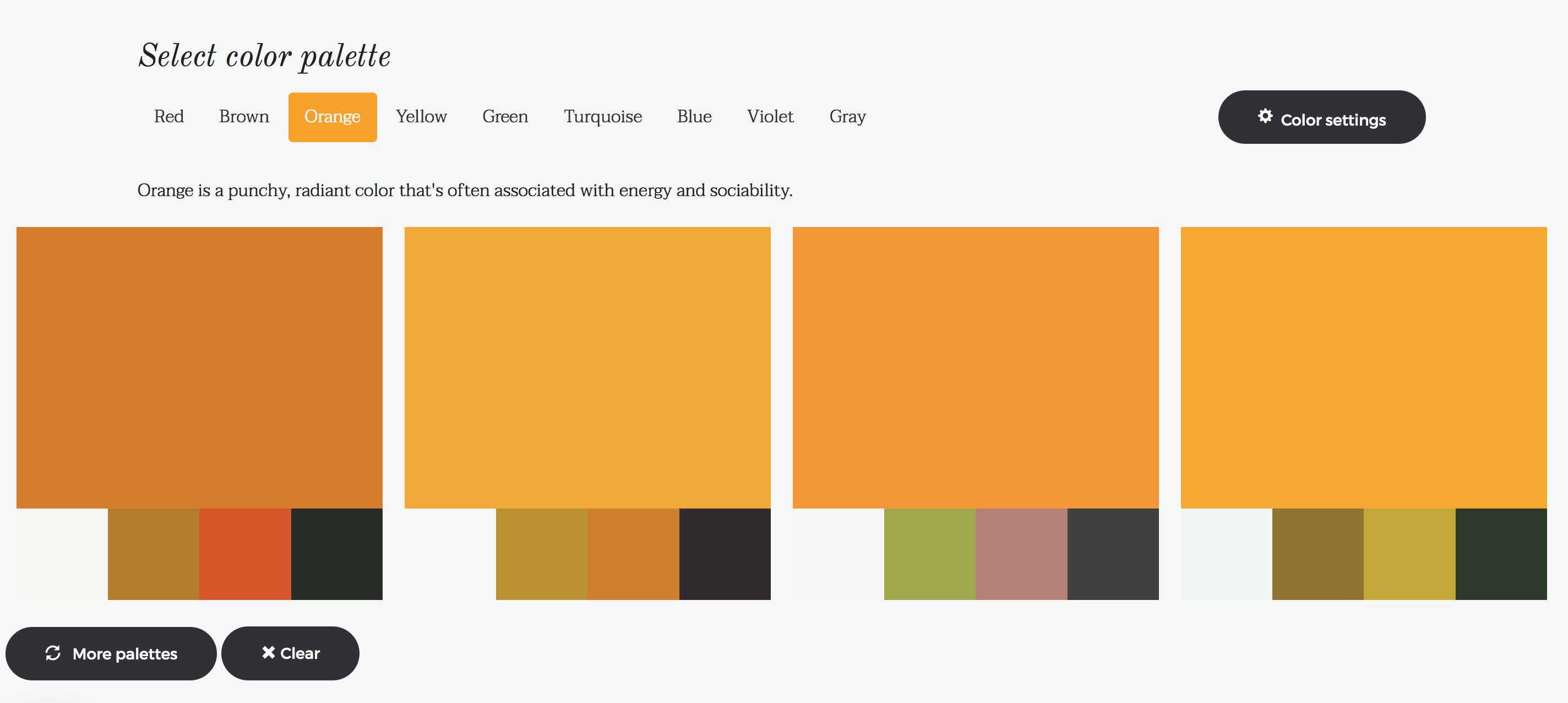Brandmark Colour Choice