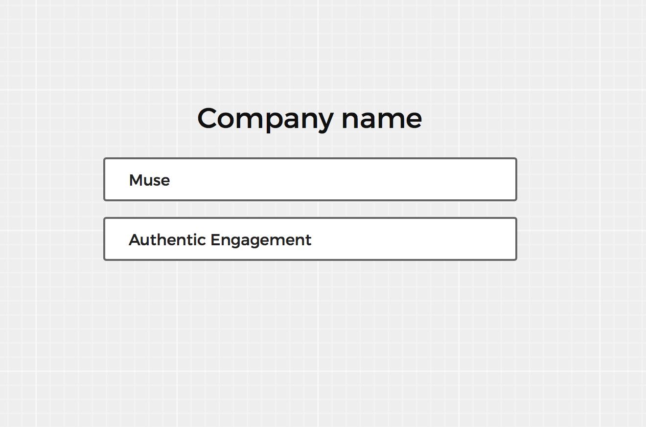 Brandmark Company Setup