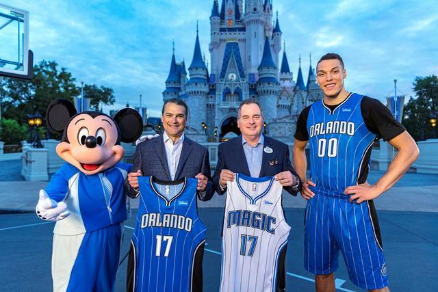 Jersey Sponsorships: Orlando Magic Disney