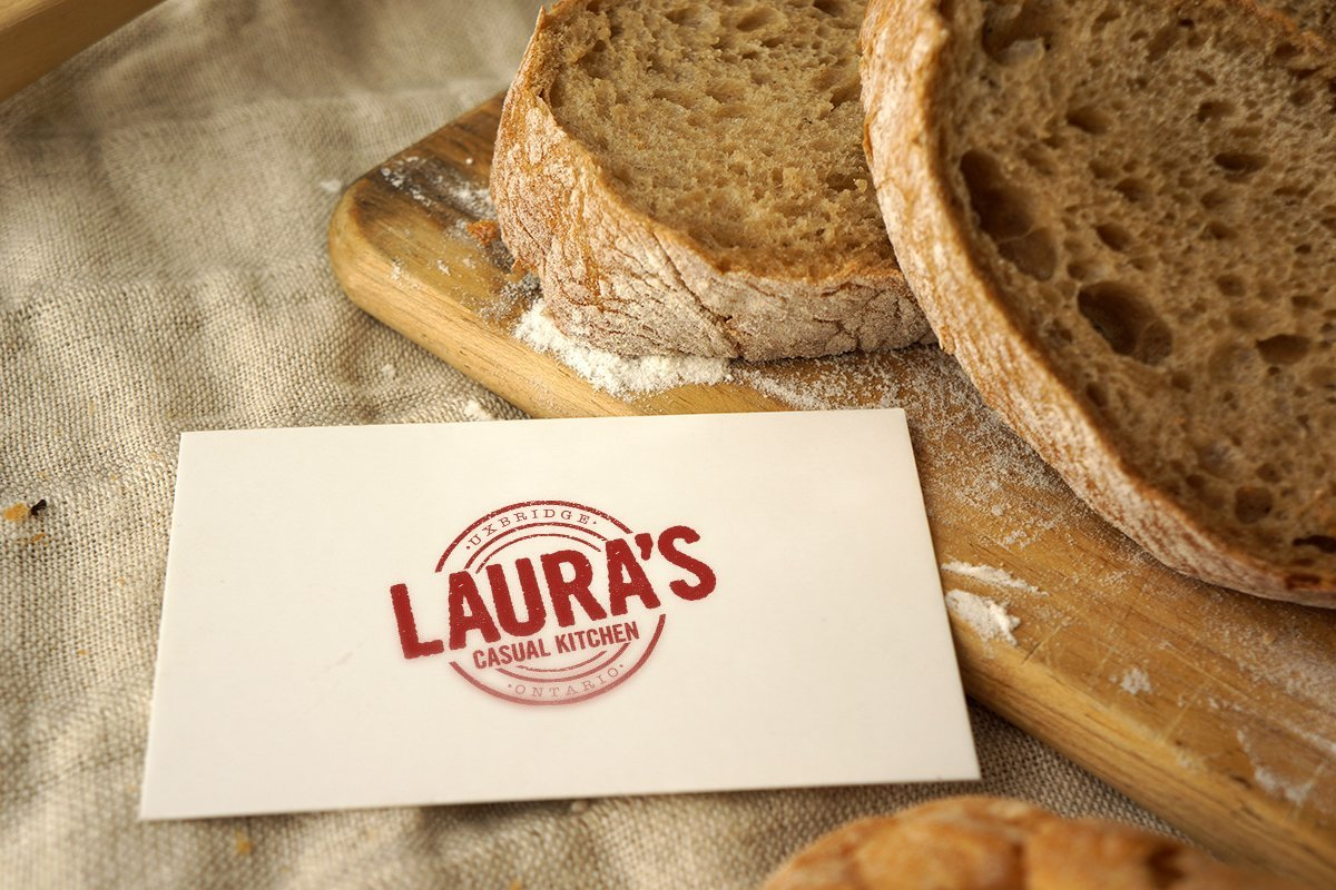 Laura's business card