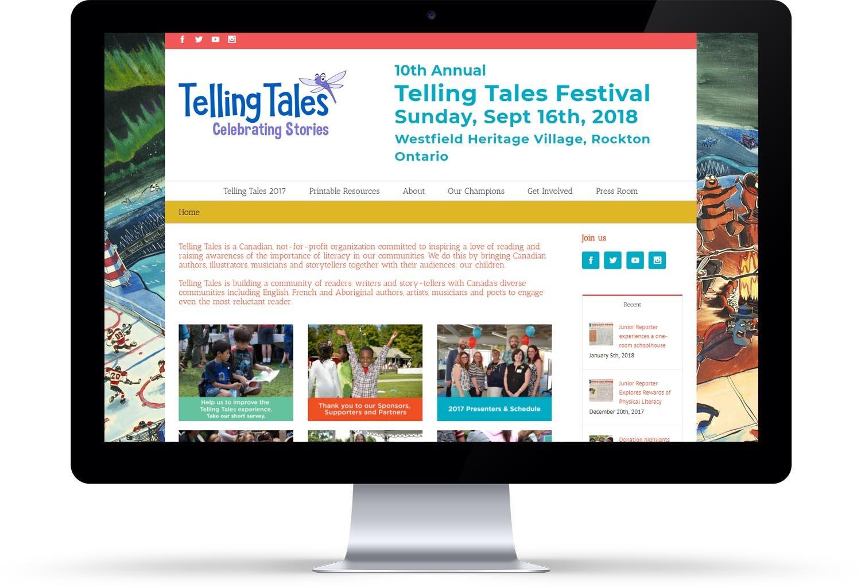 Telling Tales website