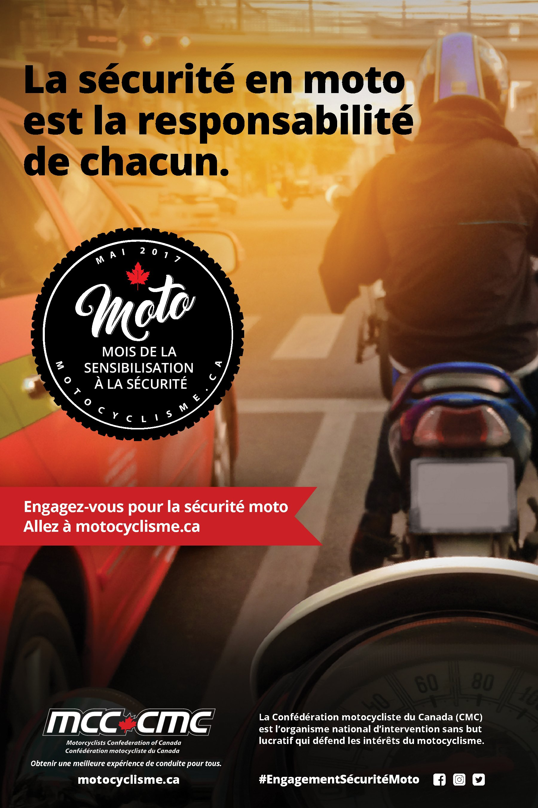 French Poster MCC Safety Campaign