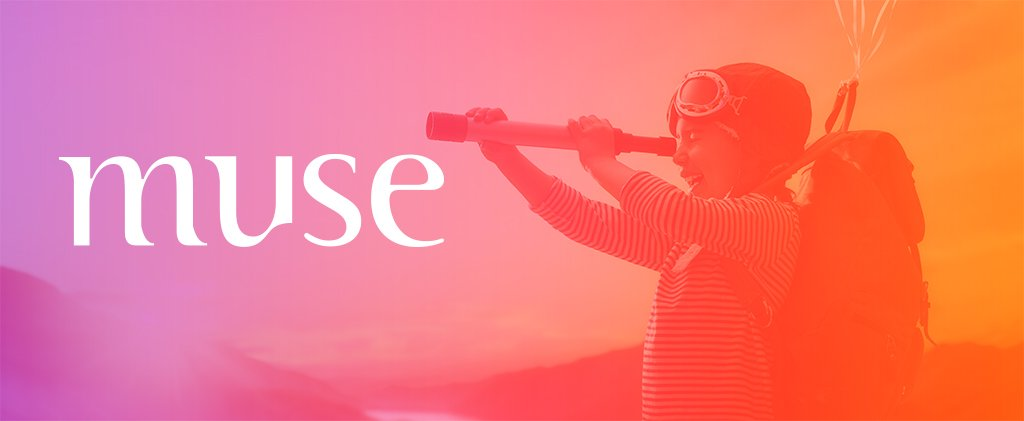 Muse brand imagery