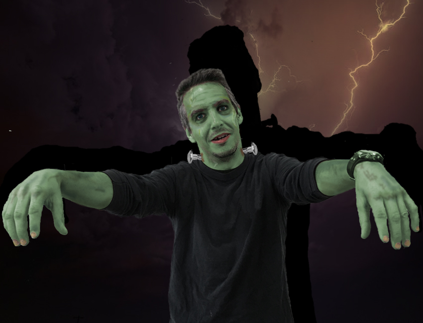 Frank Levert Halloween Picture
