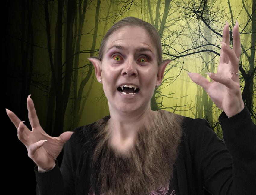 Joanna Williams Halloween Picture