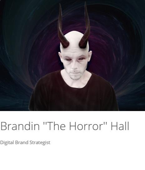 """Brandin """"The Horror"""" Hall"""