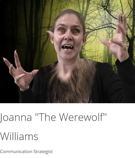 """Joanna """"The Werewolf"""" Williams"""