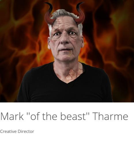 "Mark ""Of the beast"" Tharme"