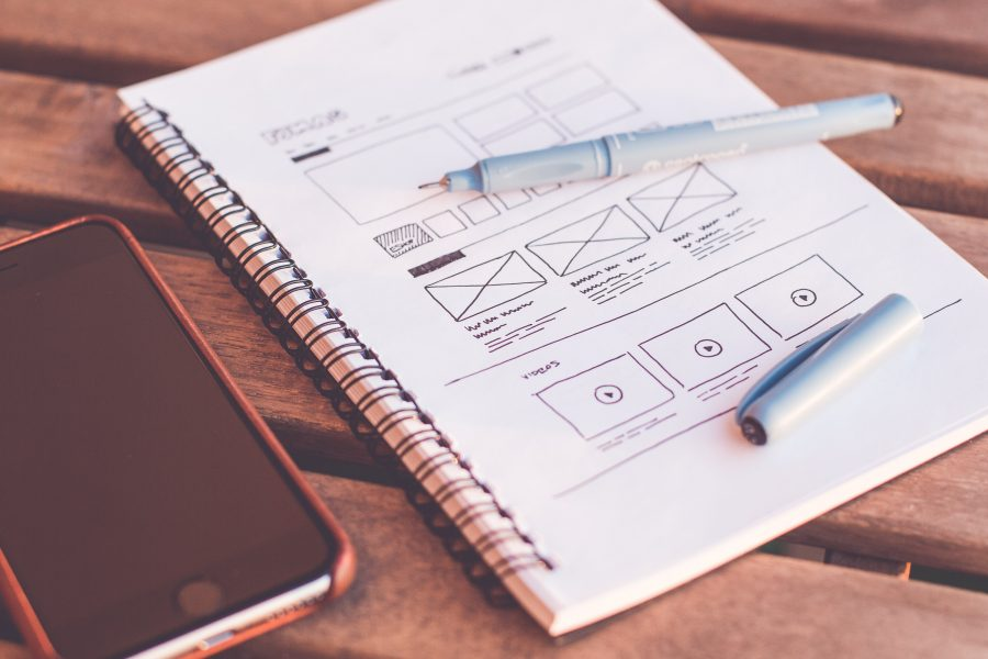 muse blog, top ux/ui trends of 2021, web design sketch