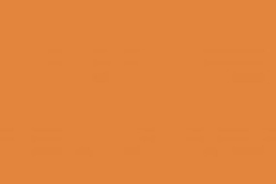 A square field of orange, representing support for Indigenous communities